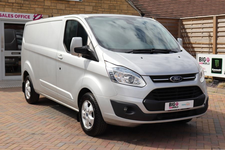 FORD TRANSIT CUSTOM 290 TDCI 130 L2H1 LIMITED LWB LOW ROOF FWD - 12272 - 6