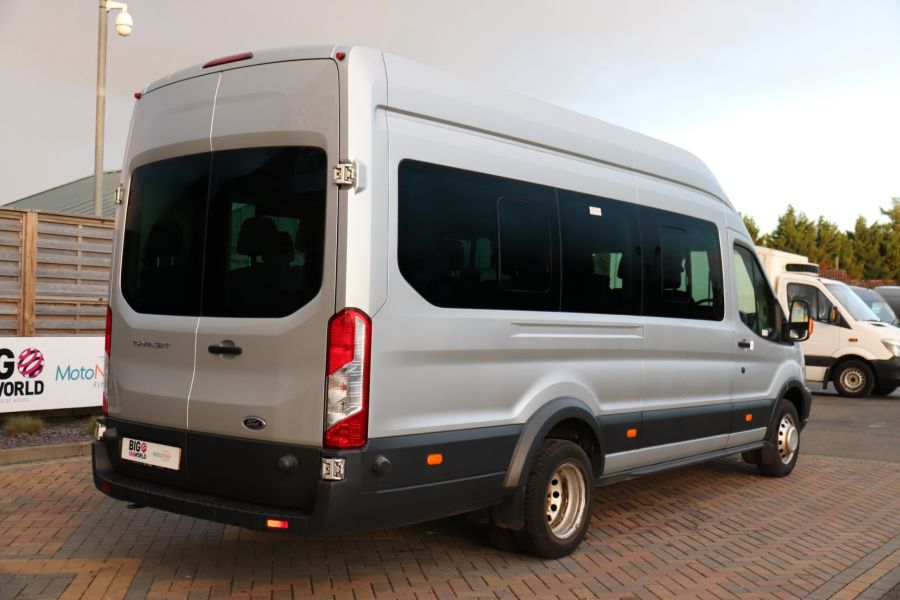 FORD TRANSIT 460 TDCI 155 L4H3 TREND 17 SEAT BUS HIGH ROOF DRW RWD - 10109 - 5