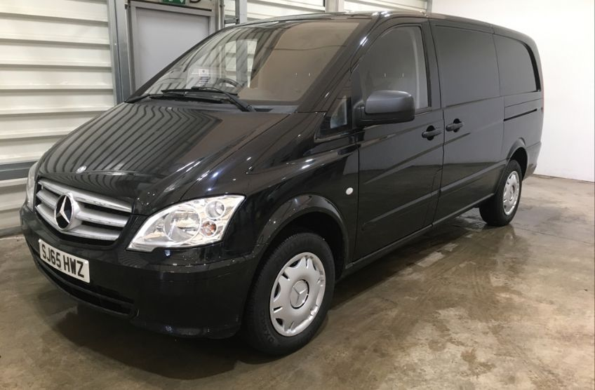 MERCEDES VITO 113 CDI 136 LWB LOW ROOF - 11093 - 8