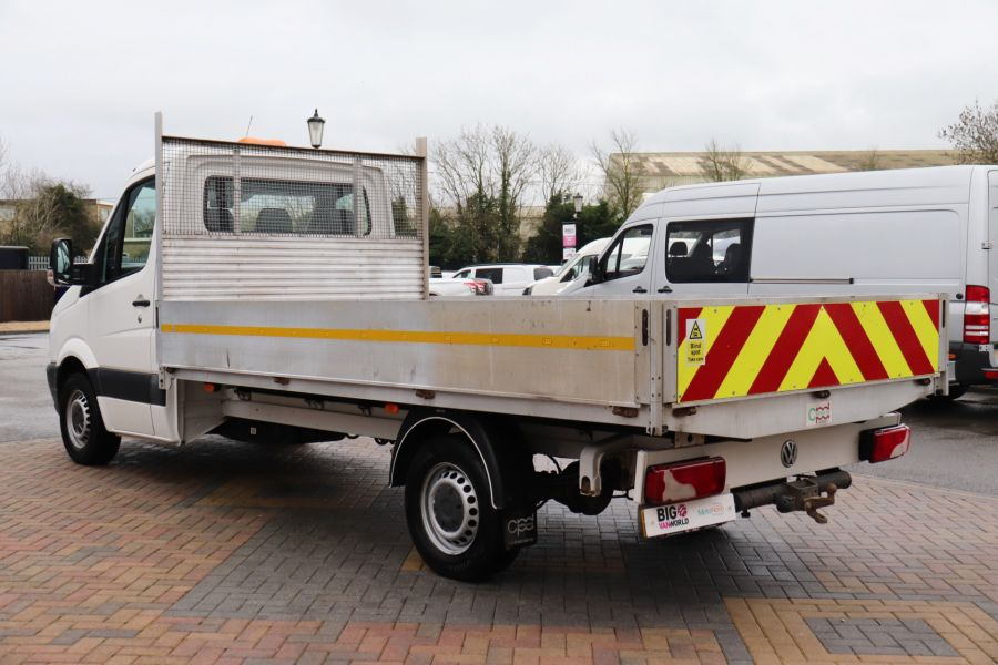 VOLKSWAGEN CRAFTER CR35 TDI 140 BMT LWB SINGLE CAB ALLOY DROPSIDE - 12073 - 9