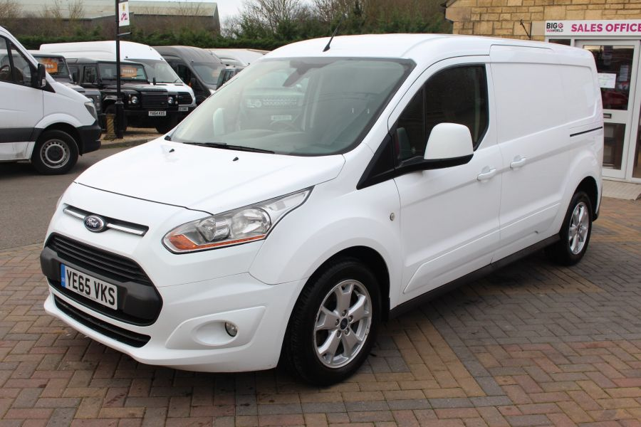 FORD TRANSIT CONNECT 240 TDCI 115 L2 H1 LIMITED LWB LOW ROOF - 8671 - 8