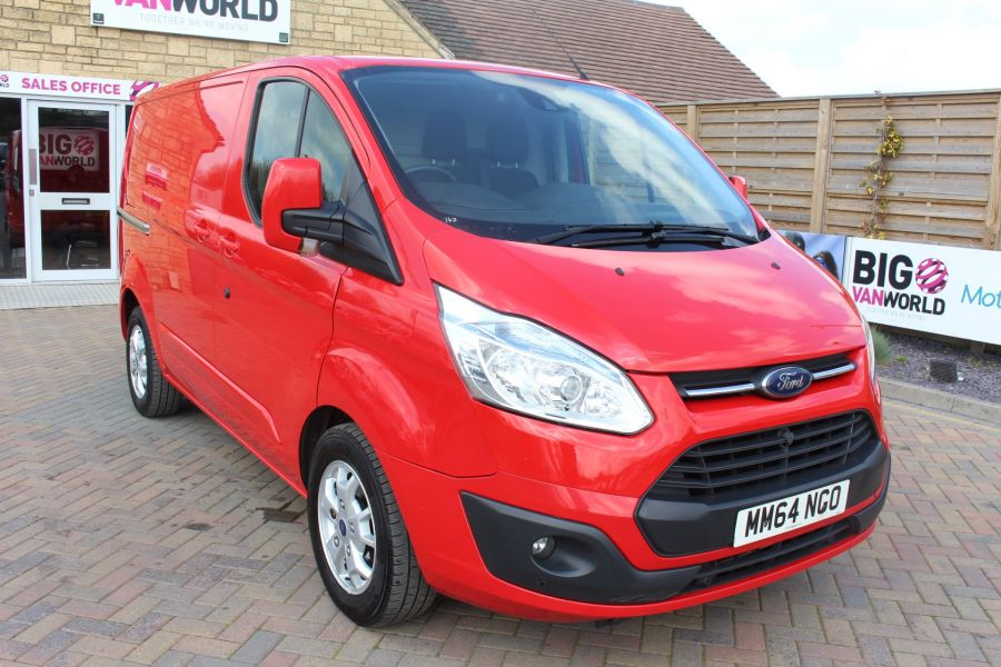 FORD TRANSIT CUSTOM 290 TDCI 125 L1 H1 LIMITED SWB LOW ROOF FWD - 9115 - 1