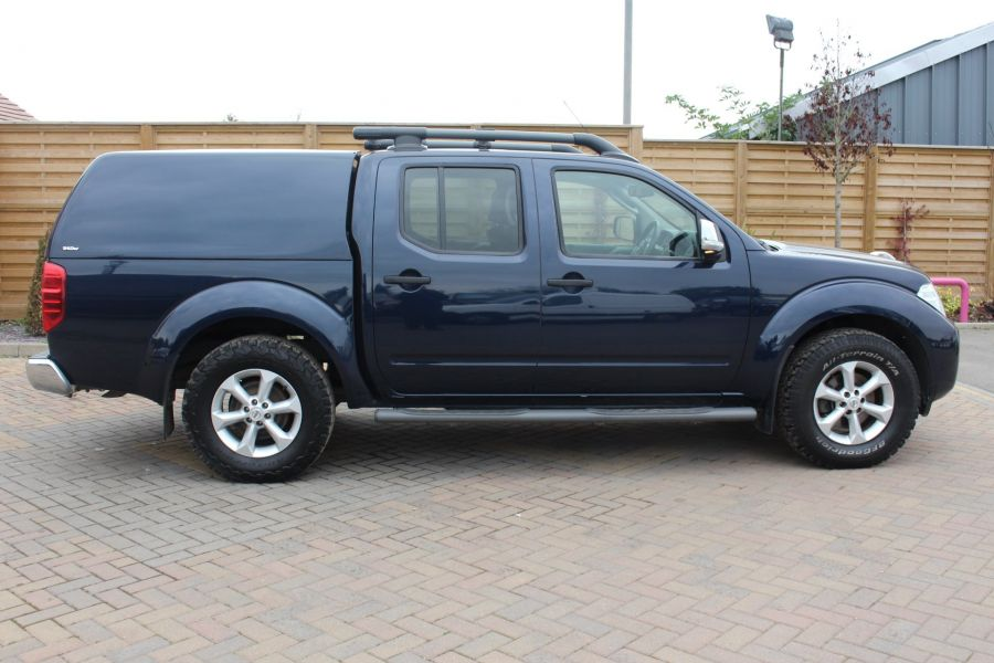 NISSAN NAVARA DCI 190 TEKNA CONNECT 4X4 DOUBLE CAB WITH TRUCKMAN TOP - 6786 - 4