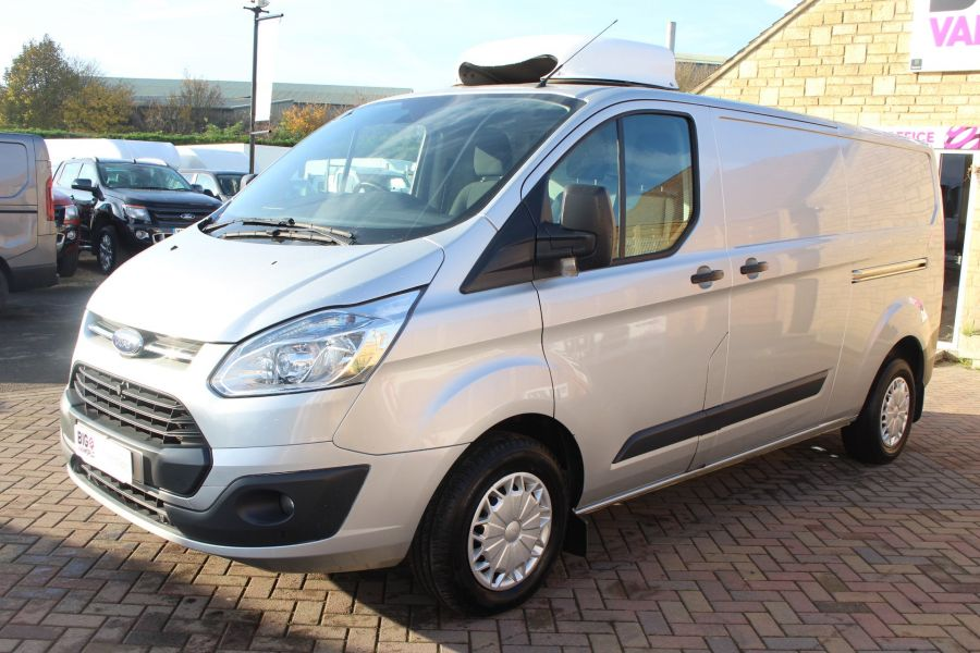 FORD TRANSIT CUSTOM 290 TDCI 100 L2 H1 TREND LWB LOW ROOF FRIDGE WITH OVERNIGHT - 6896 - 8