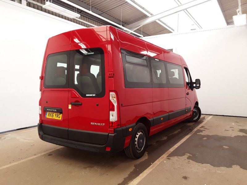 RENAULT MASTER LM39 DCI 165 BUSINESS ENERGY LWB 17 SEAT MINIBUS MEDIUM ROOF - 11353 - 3