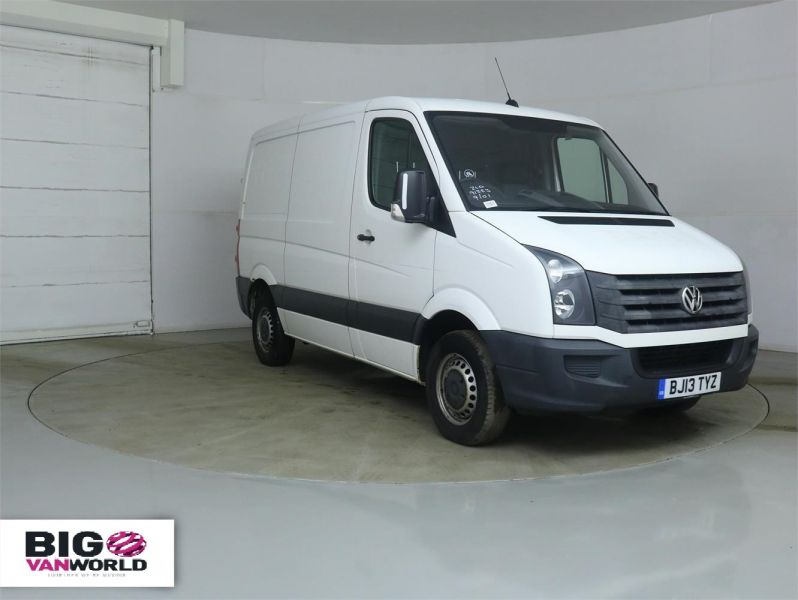 VOLKSWAGEN CRAFTER CR30 TDI 109 SWB LOW ROOF - 8938 - 1