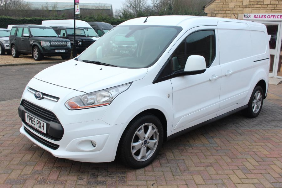 FORD TRANSIT CONNECT 240 TDCI 115 L2 L1 LIMITED LWB LOW ROOF - 8603 - 8