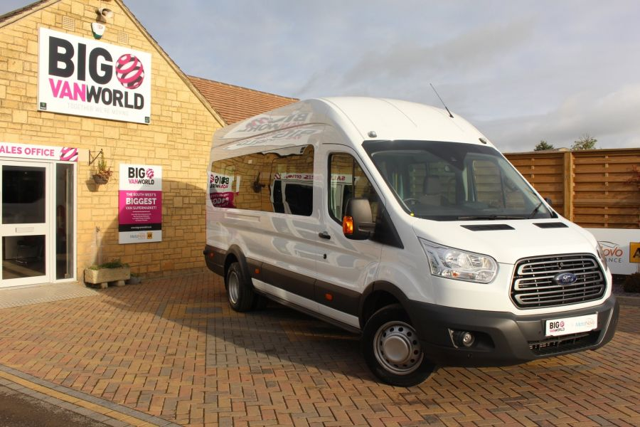 FORD TRANSIT 460 TDCI 125 L4 H3 TREND LWB HIGH ROOF 17 SEATS BUS - 6718 - 1