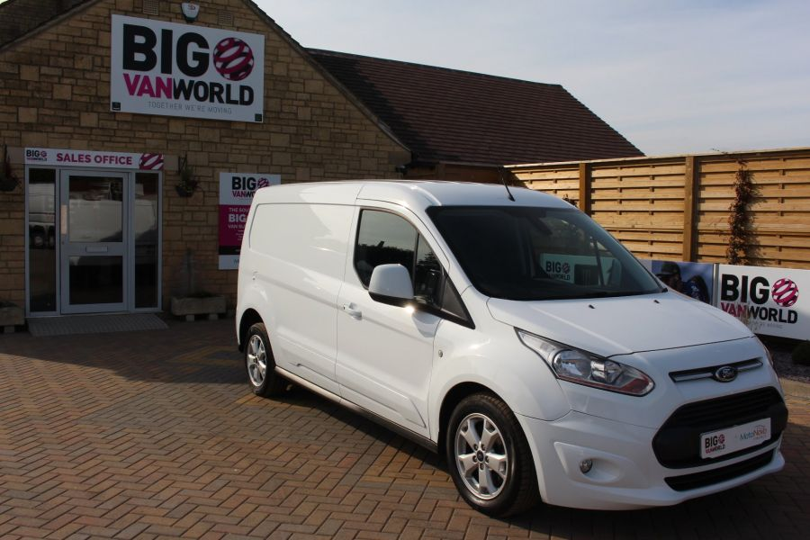 FORD TRANSIT CONNECT 240 TDCI 115 LIMITED L2 H1 LWB - 6165 - 2