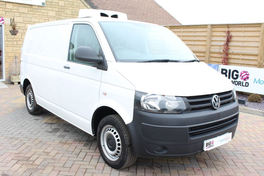 VOLKSWAGEN TRANSPORTER T26 TDI 84 STARTLINE SWB LOW ROOF FRIDGE VAN - 7334 - 1