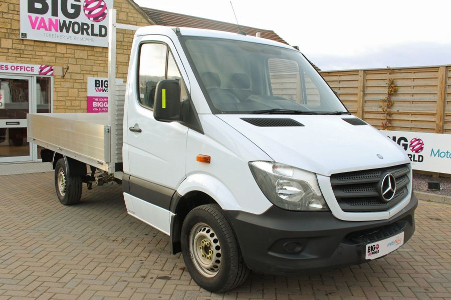 MERCEDES SPRINTER 313 CDI 129 MWB SINGLE CAB NEW BUILD ALLOY DROPSIDE - 9603 - 3
