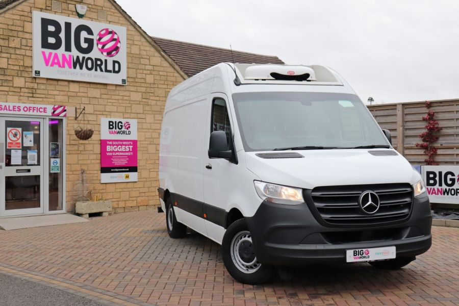 MERCEDES SPRINTER 314 CDI 143 L2H2 FRIDGE VAN MWB HIGH ROOF RWD - 12024 - 5