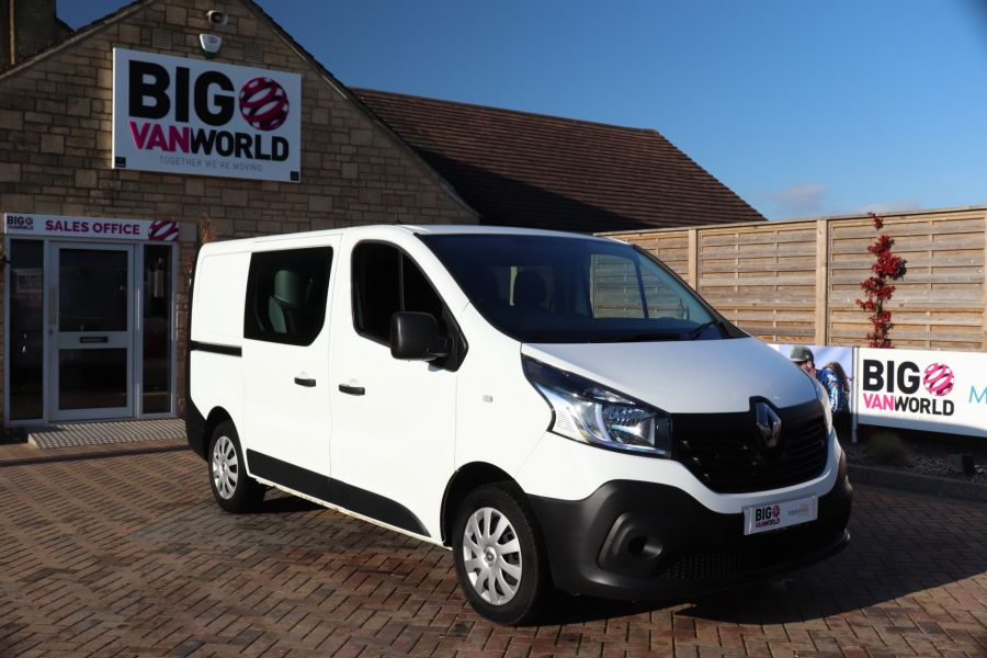 RENAULT TRAFIC SL27 DCI 115 BUSINESS SWB DOUBLE CAB 6 SEAT CREW VAN LOW ROOF  - 10282 - 3