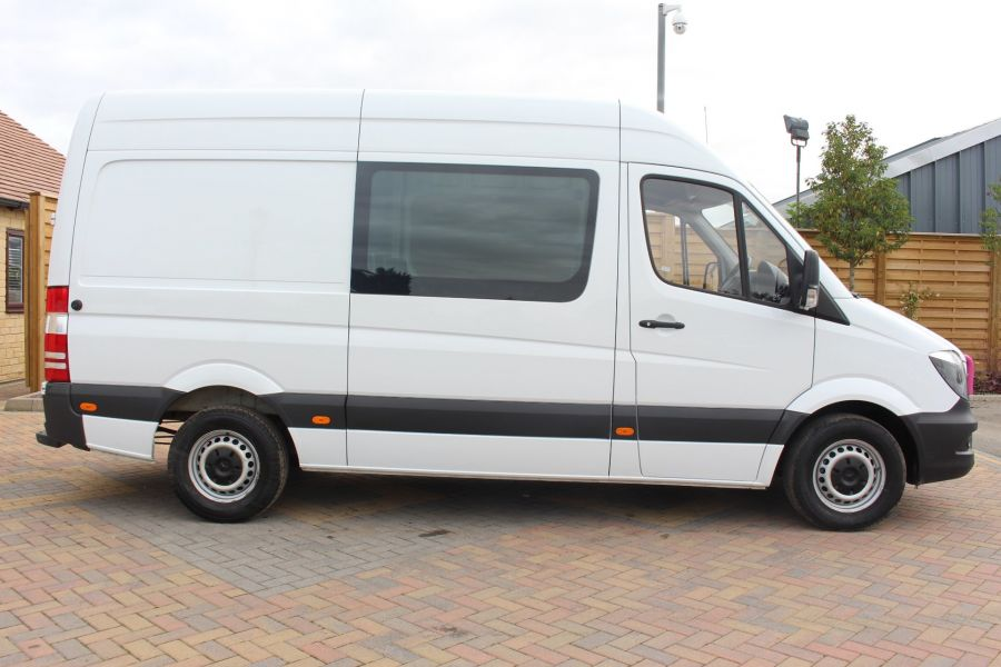 MERCEDES SPRINTER 313 CDI MWB HIGH ROOF 6 SEAT CREW VAN - 6303 - 4