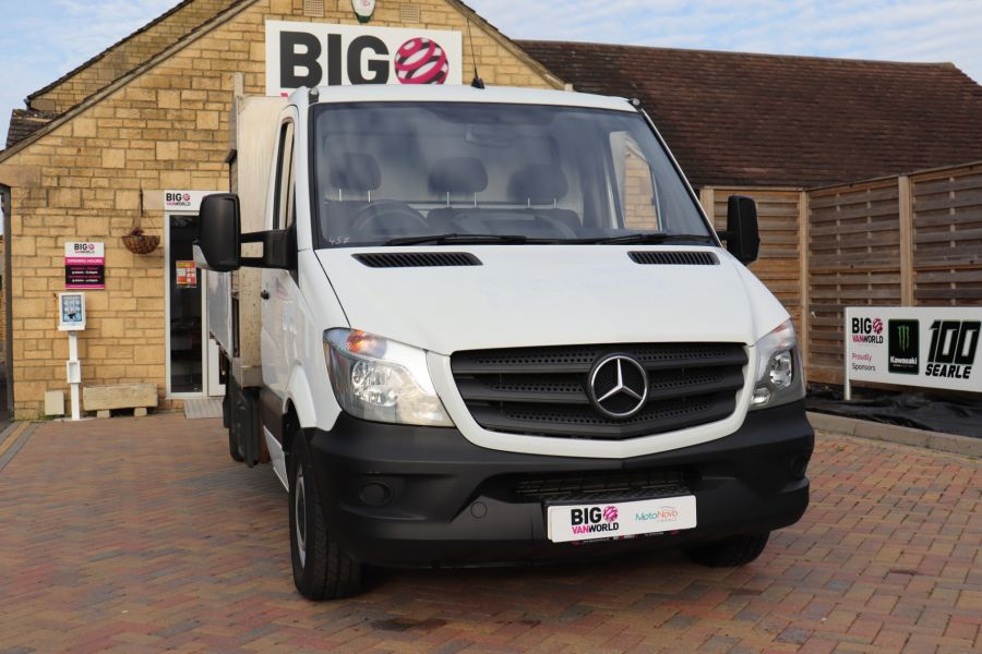 MERCEDES SPRINTER 314 CDI 140 LWB SINGLE CAB ALLOY DROPSIDE - 11135 - 4