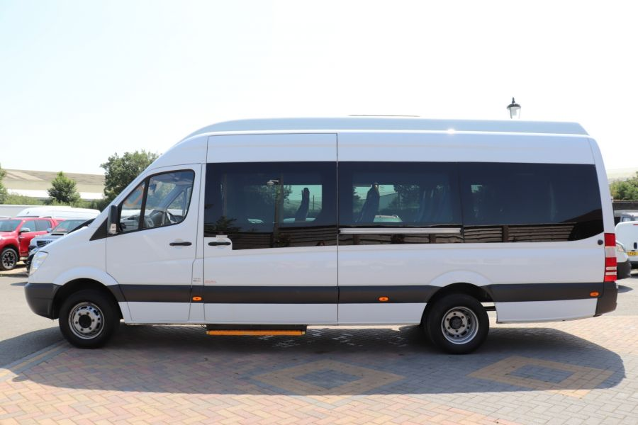 MERCEDES SPRINTER 513 CDI 129 XLWB EXTRA HIGH ROOF 15 SEAT BUS WITH WHEELCHAIR ACCESS - 9801 - 9