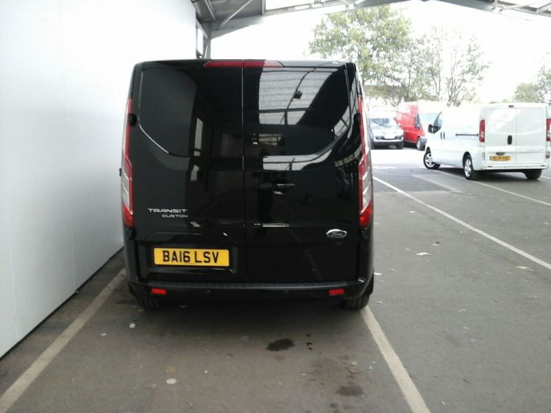 FORD TRANSIT CUSTOM 290 TDCI 155 L1 H1 LIMITED SWB LOW ROOF FWD - 8500 - 3