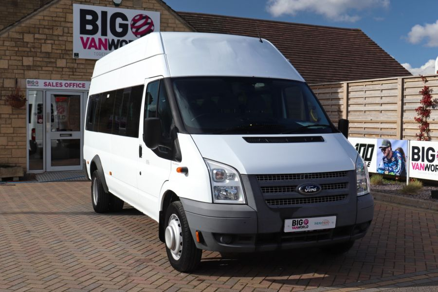FORD TRANSIT 430 TDCI 135 EL LWB 17 SEAT BUS HIGH ROOF WITH WHEELCHAIR ACCESS RAMP DRW RWD - 10401 - 4