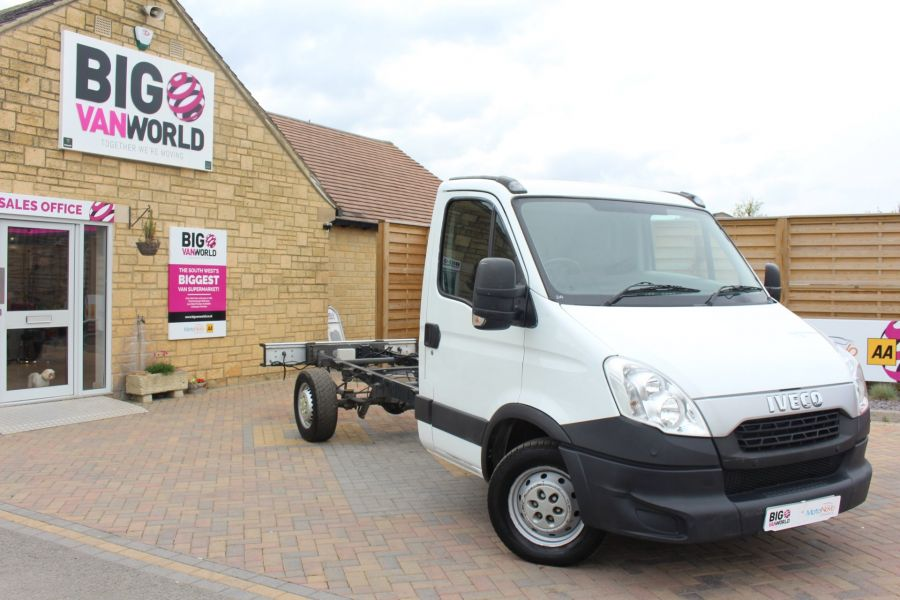 IVECO DAILY 35S11 SINGLE CAB CHASSIS CAB 3750 WB - 7590 - 2