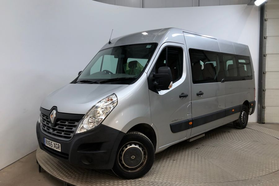 RENAULT MASTER LM39 DCI 150 BUSINESS LWB 17 SEAT BUS MEDIUM ROOF WITH OVERHEAD STORAGE  (13987) - 12235 - 5