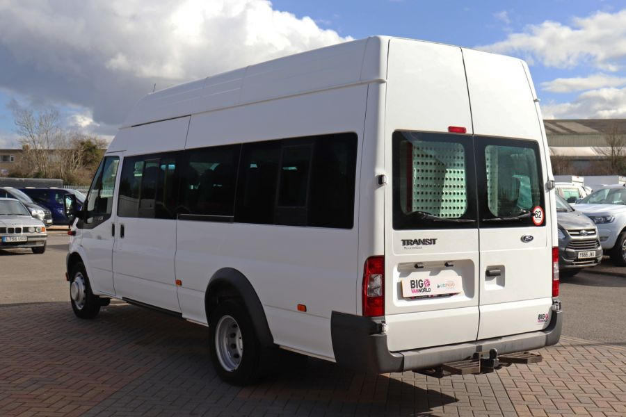 FORD TRANSIT 430 TDCI 135 EL LWB 17 SEAT BUS HIGH ROOF WITH WHEELCHAIR ACCESS RAMP DRW RWD - 10401 - 8