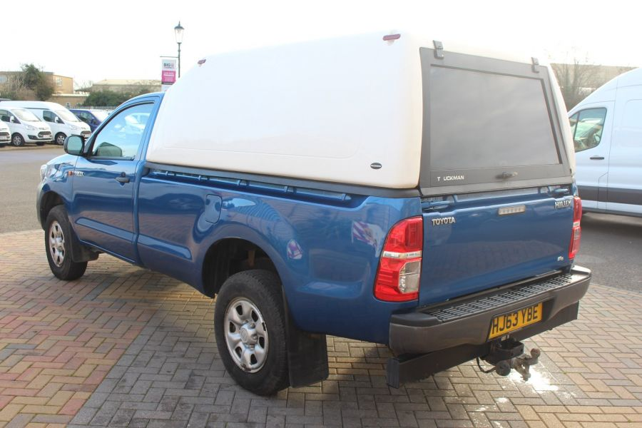 TOYOTA HI-LUX HL2 4X4 D-4D 142 SINGLE CAB WITH TRUCKMAN TOP - 8707 - 7