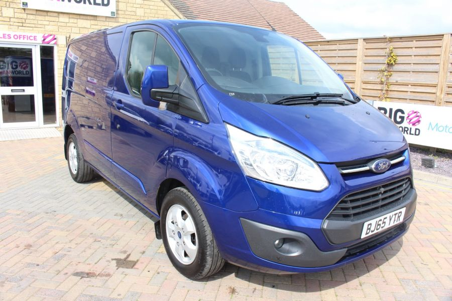 FORD TRANSIT CUSTOM 290 TDCI 125 L1 H1 LIMITED SWB LOW ROOF FWD - 9056 - 1