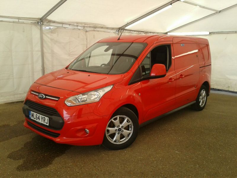 FORD TRANSIT CONNECT 240 TDCI 115 L2H1 LIMITED LWB LOW ROOF - 9853 - 1