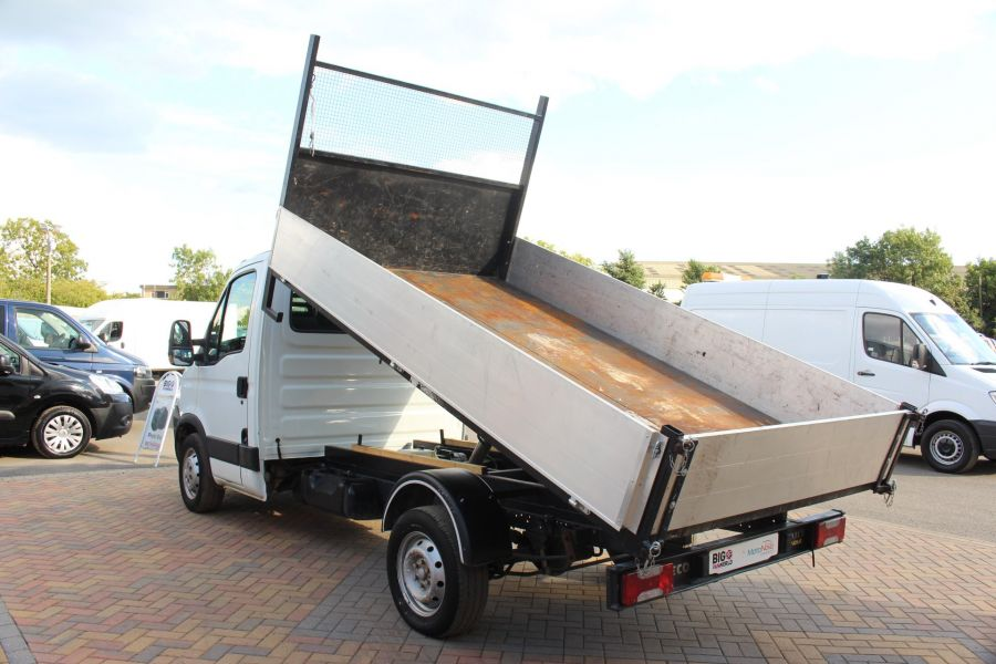 IVECO DAILY 35S11 MWB SINGLE CAB 11FT 6IN ALLOY TIPPER - 5178 - 7
