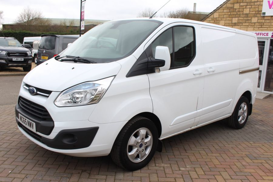 FORD TRANSIT CUSTOM 330 TDCI 125 L1 H1 LIMITED SWB LOW ROOF FWD - 9004 - 8