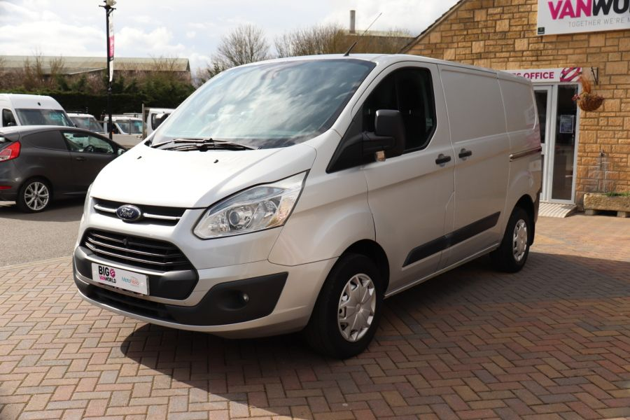 FORD TRANSIT CUSTOM 270 TDCI 125 L1H1 TREND SWB LOW ROOF - 10621 - 10