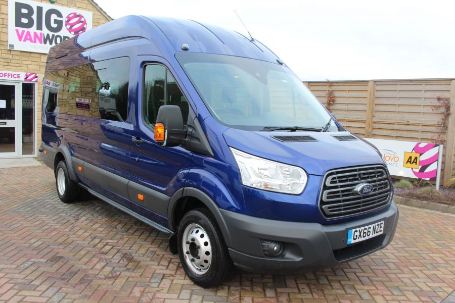 FORD TRANSIT 460 TDCI 125 TREND L4 HIGH ROOF 17 SEAT BUS - 8546 - 1