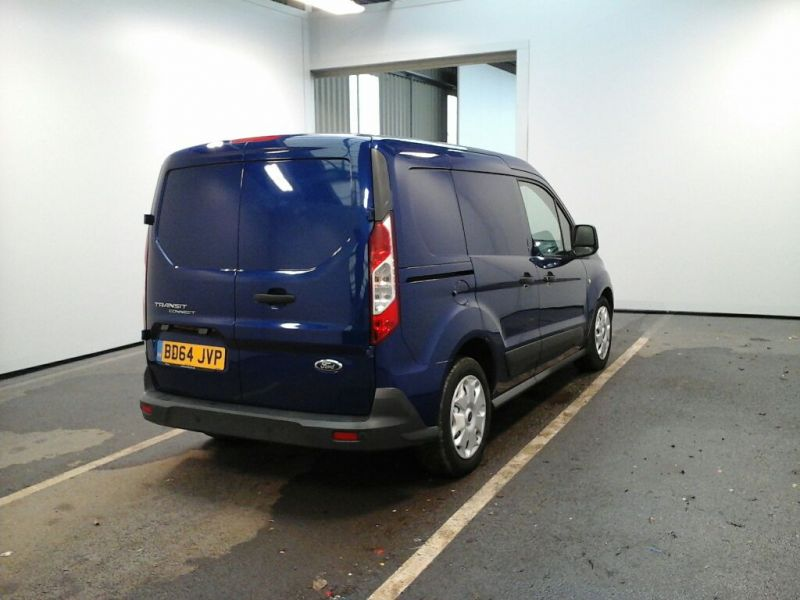 FORD TRANSIT CONNECT 220 TDCI 95 L1 H1 TREND DOUBLE CAB 5 SEAT CREW VAN - 9057 - 2