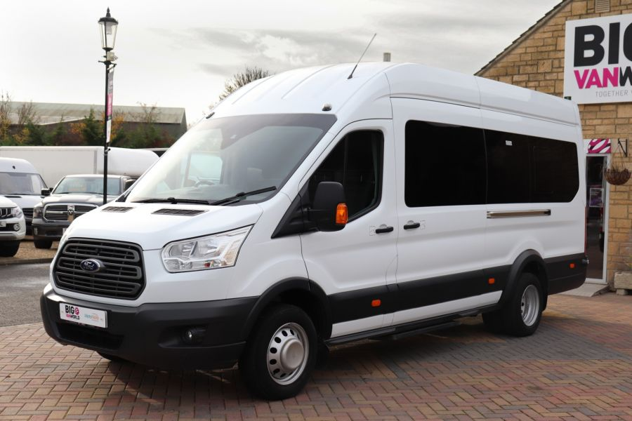 FORD TRANSIT 460 TDCI 155 L4H3 TREND 17 SEAT BUS HIGH ROOF DRW RWD - 11807 - 12