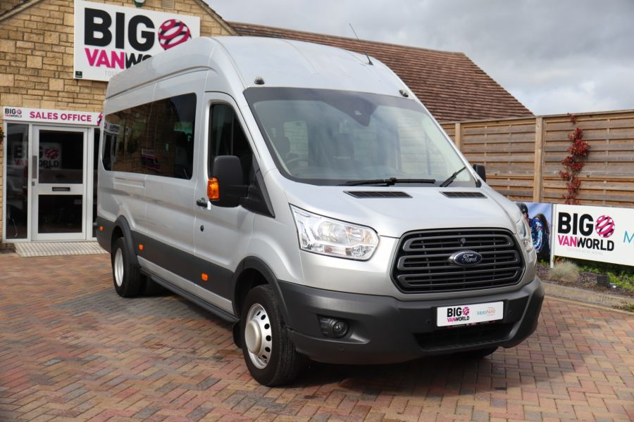 FORD TRANSIT 460 TDCI 155 L4H3 TREND 17 SEAT BUS HIGH ROOF DRW RWD - 9897 - 3