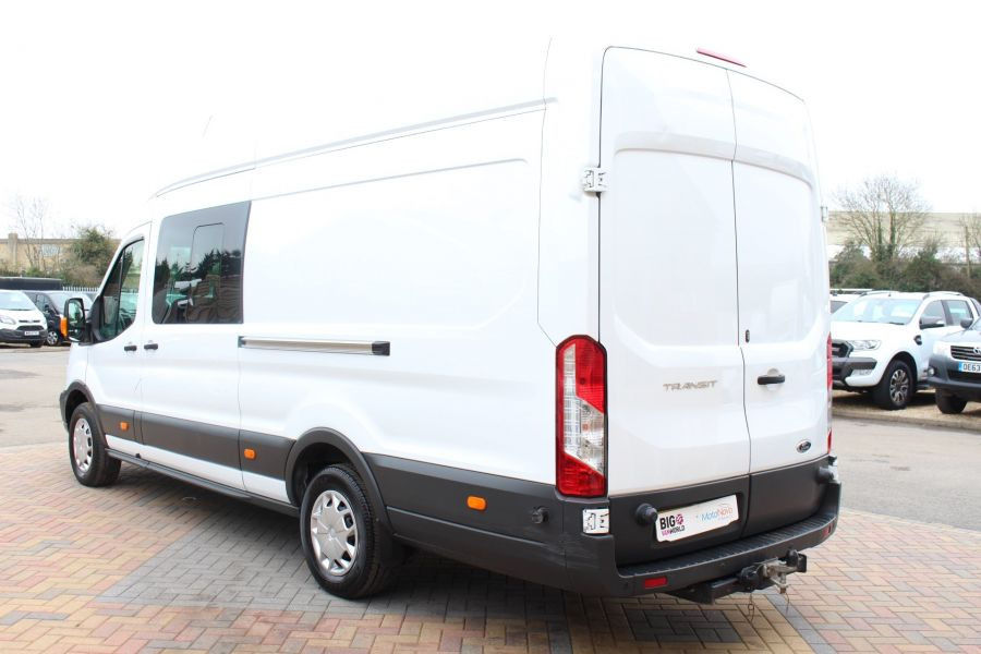 FORD TRANSIT 350 TDCI 155 L4 H3 TREND DOUBLE CAB 7 SEAT CREW VAN JUMBO HIGH ROOF  - 7472 - 7