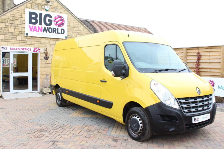 RENAULT MASTER LM35 DCI 125 LWB MEDIUM ROOF - 7494 - 2