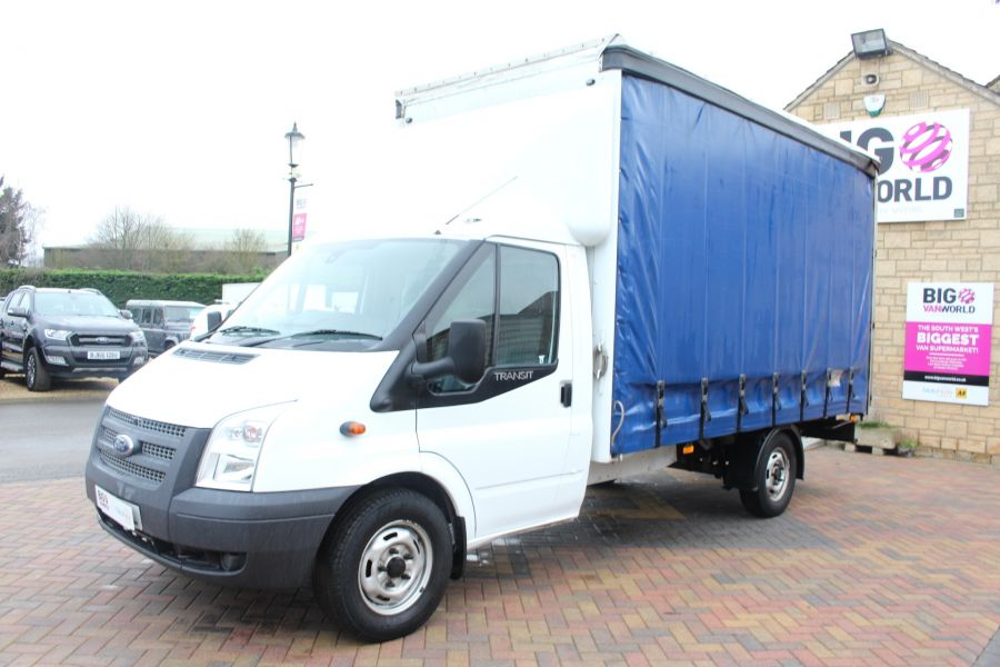 FORD TRANSIT 350 TDCI 125 LWB CURTAIN SIDE FWD - 6982 - 7