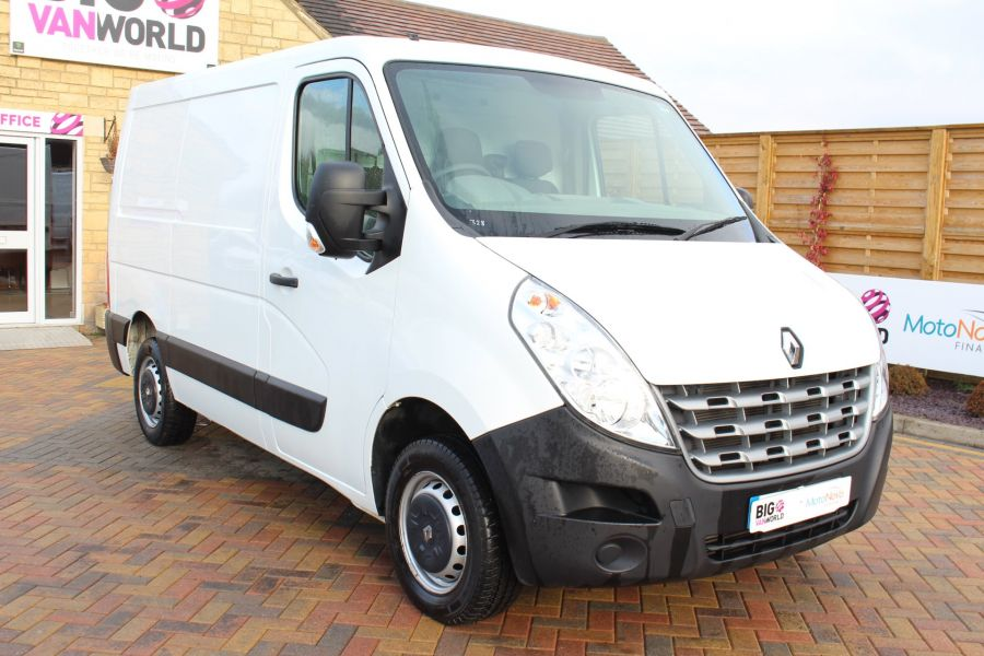 RENAULT MASTER SL33 DCI 100 SWB LOW ROOF FWD - 7248 - 1