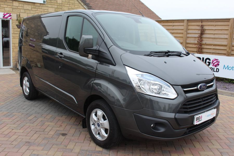 FORD TRANSIT CUSTOM 270 TDCI 125 L1 H1 LIMITED SWB LOW ROOF FWD - 7818 - 1