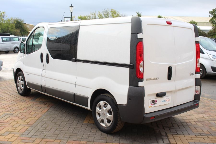 RENAULT TRAFIC LL29 DCI 115 L2 H1 DOUBLE CAB LWB CREW VAN - 6787 - 7
