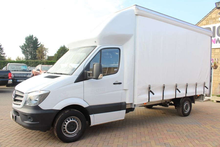 MERCEDES SPRINTER 313 CDI LWB 14FT CURTAIN SIDE LUTON BOX - 6147 - 7