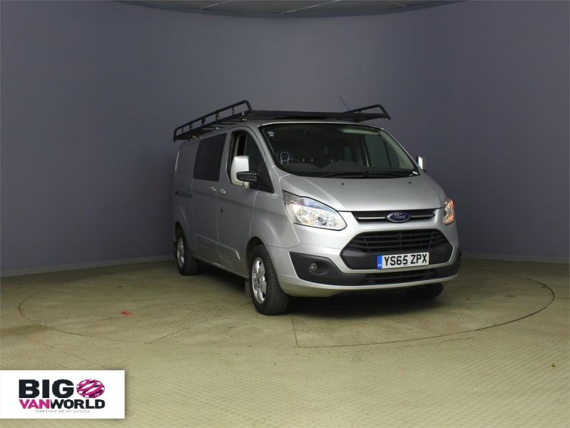 FORD TRANSIT CUSTOM 290 TDCI 125 L2 H1 LIMITED DOUBLE CAB 6 SEAT CREW VAN LWB LOW ROOF  - 8859 - 1