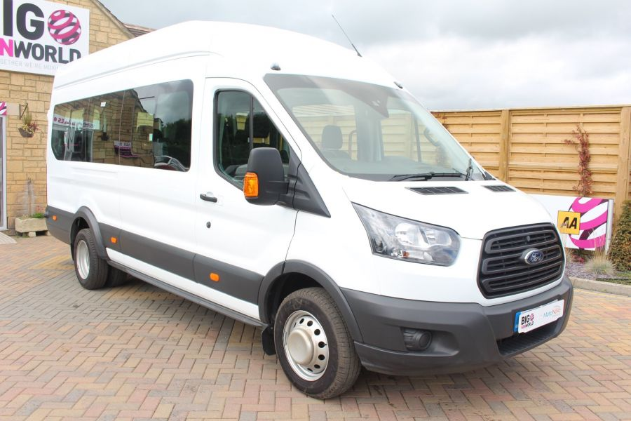 FORD TRANSIT 460 TDCI 125 L4 H3 LWB HIGH ROOF 17 SEAT BUS RWD - 6608 - 3