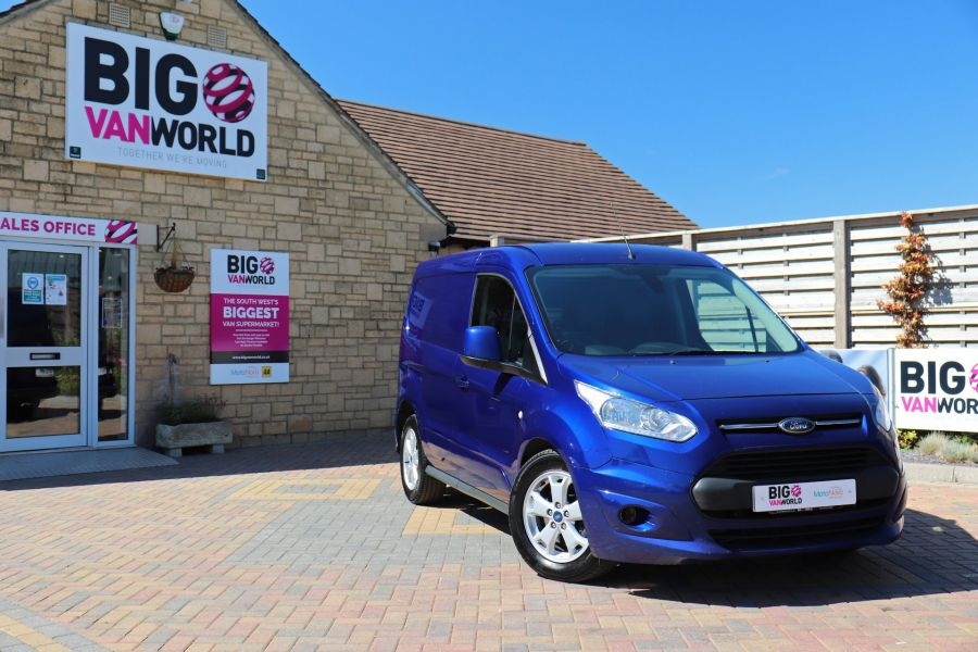 FORD TRANSIT CONNECT 200 TDCI 120 L1H1 LIMITED POWERSHIFT SWB LOW ROOF - 10617 - 1