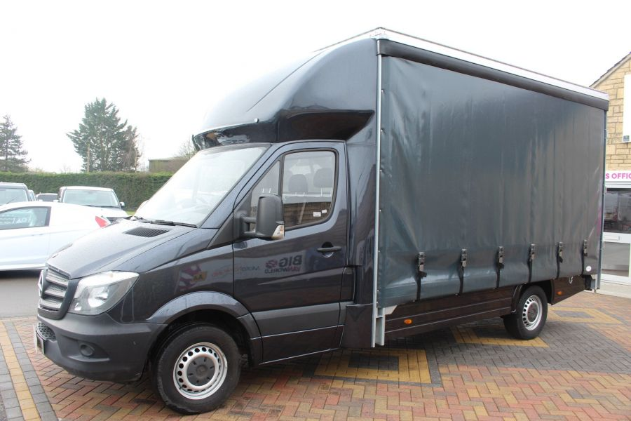 MERCEDES SPRINTER 313 CDI LWB 14FT CURTAIN SIDE BOX - 5627 - 7