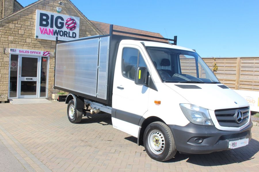 MERCEDES SPRINTER 313 CDI 129 MWB SINGLE CAB NEW BUILD ARBORIST ALLOY TIPPER - 9307 - 11