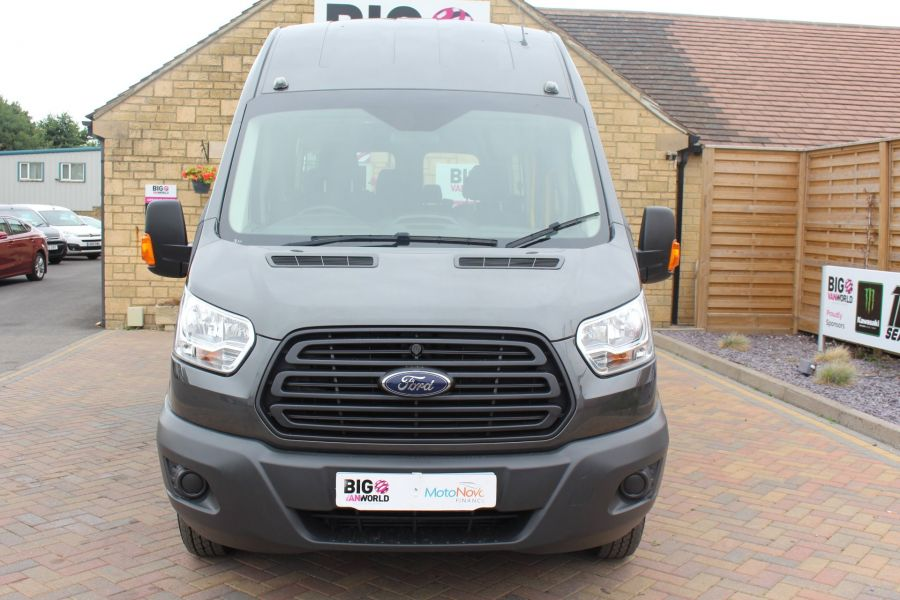 FORD TRANSIT 460 TDCI 155 L4 H3 17 SEAT BUS HIGH ROOF DRW RWD - 8132 - 9