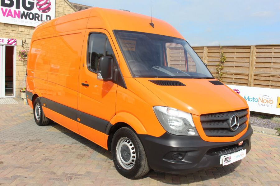 MERCEDES SPRINTER 313 CDI 129 MWB HIGH ROOF MOBILE TYRE FITTING - 8117 - 1