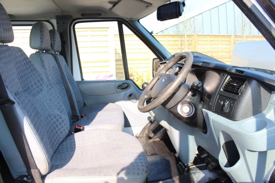 FORD TRANSIT 350 TDCI 155 LWB 6 SEAT DOUBLE CAB 'ONE STOP' ALLOY TIPPER DRW RWD - 7337 - 18